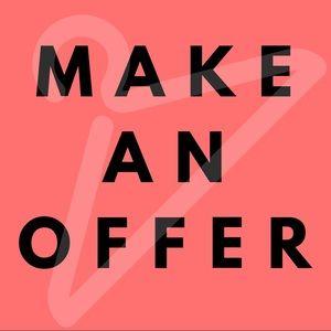 Make an offer! Closet clean out ✨